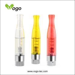 Atomizador reemplazable, la cabeza H2 Clearomizer EGO cigarrillo electrónico, E-cigarrillo con 2.0ml, 7 colores