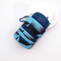 Bouteille d'eau de silicone pliable/voyage portable bouteille d'eau de pliage de sport d'économiser l'espace, sans BPA14020 400ml ESG