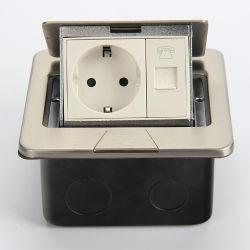 Pop-up de alta qualidade tipo caixa de tomada de piso