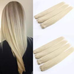 El cabello humano brasileña la trama de Rubio Cabello Natural tejido