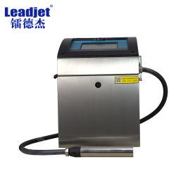 Fecha de caducidad automática industrial chino de la impresora de inyección de tinta de cable
