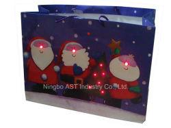 Bolsa de regalo grabables, luz LED de bolsa, bolsa de regalo de música