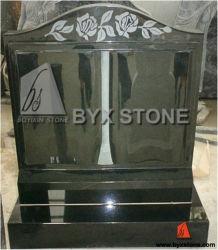 ヨーロッパのDesignの花こう岩Book Upright Memorial/Headstone