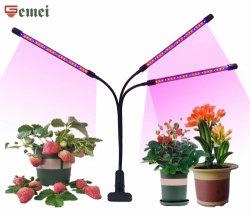 A abraçadeira do LED crescer o LED de luz da lâmpada crescer 7,5W de iluminação com efeito de estufa