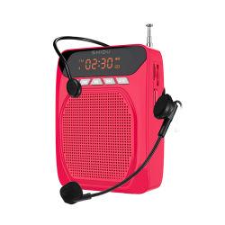 Shidu 13W 소형 Hi-Fi 스피커 FM 라디오 Bluetooth 증폭기