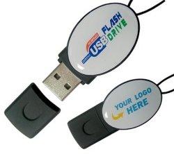 Ovales Epoxidplastik-USB-Blitz-Laufwerk, Abdeckung-Kennsatz verwendete