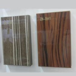 Los paneles de MDF de alto brillo para el armario de cocina y armario (ZH3940)
