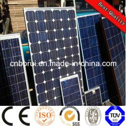 01 اللوحة الشمسية أحادية البلورات ذات الإطار الأسود 10W-320W