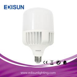 Ampoule LED haute puissance E27 E40 20W 30W 40W 50W 100W T Lampe de feu de forme en aluminium