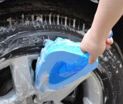 Wasblokjes voor auto-schuimrubber-sproeier voor het polijsten van de auto Wafelspons-onderlegring met antisliphandvat Esg13052