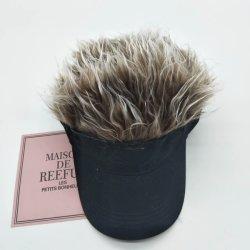 Nuevo estilo de gorra con visera de la moda pelucas Partido Único Hat