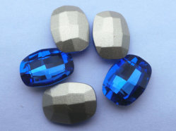 Fancy Crystal Point Back Beads Per La Sezione Gioielli