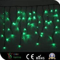 Décoration de Noël lumières LED de plein air chute Icicle