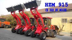 Zl15 kompakter Traktorlader 1.5t Kleiner Radlader Hzm915 mit Euro III Motor