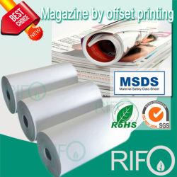 Riss-beständiges überzogenes synthetisches Papier für Buch-Zeitschriften der Kinder