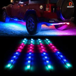 Striscia Cuttable aggiornata 2020 di RGB della decorazione interna automatica dell'automobile del kit degli indicatori luminosi di striscia del LED