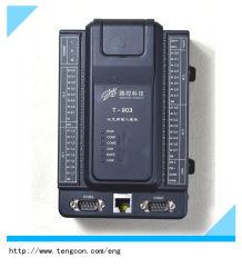 PLC T-903 (32AI) dell'entrata analogica con RS485/232 e la comunicazione di Ethernet