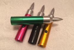 Het multi MiniFlitslicht van de Batterij van de AMERIKAANSE CLUB VAN AUTOMOBILISTEN van de Toorts van de Kogel van het Aluminium Slanke