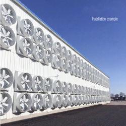 産業用 FRP コーンバタフライ換気排気ファン、養鶏場 / 温室 / 産業 / ワークショップ / 倉庫用 高品質の軸イクイップメント