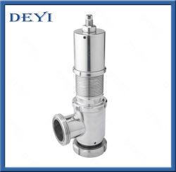 Ajuste de presión de canalización de la válvula de seguridad