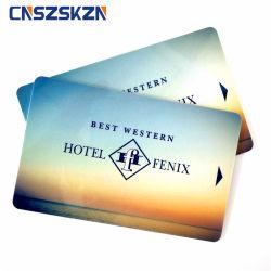 無接触のホテルのドアロックの鍵カードの強打RFID T5577チップカード