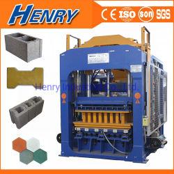 Мониторинг интервала QT10-15 гидравлического цемента производстве кирпича машины Curbstone широко используется блок бумагоделательной машины