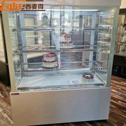 Supermarkt-Bildschirmanzeige kühlte gekühlte Kuchen-Schrank-Gefriermaschine