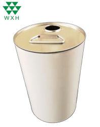 Químicos del aceite lubricante de contenedor de reciclaje de solventes de estaño Bote de pintura
