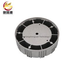 Couvercle de lampe LED moulage sous pression en aluminium