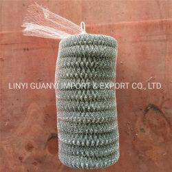 Металлические губки с абразивным покрытием из нержавеющей стали и потенциометра Scourer утюга губки скрубберы