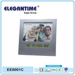 LCD-Wecker mit Bilderrahmen