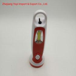Oranje Kleur 8667 het Nieuwe ABS Plastic Flitslicht van de Toorts van Rechargeble van de MAÏSKOLF Zij Lichte 1W