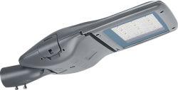 Rentable de alta calidad resistente al agua IP65 LED de exterior lámpara solar calle galvanizado en caliente con recubrimiento de polvo y el polo de iluminación