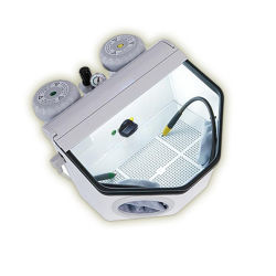 Laboratorio dental usar dos Pen Mini máquina de chorro de arena /Arenado /Sand Blaster/Fina Blaster