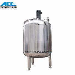 Acero inoxidable personalizado reacción agitador magnético de depósito de mezcla de líquidos químicos