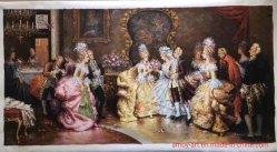 Воспроизводится классическая королевская жизнь рисунок картины маслом на холсте