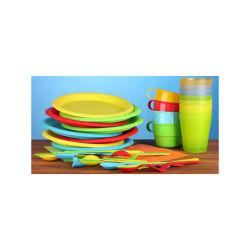 De plastic Vorm van de Injectie voor Messen en Vorken van Plasitc van de Kop van de Plaat van het Diner van plastic-Producten de de Plastic