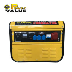مجموعة المولدات الكهربائية ثلاثية الأطوار التي تعمل بطاقة البنزين بقدرة 5 كيلو واط السعر