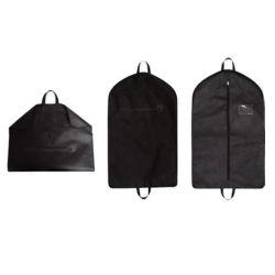 製造業者の高品質の卸売の工場販売はカスタムロゴの有名なブランドの黒いスーツの衣装袋をカスタマイズした