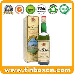 Навесная Scotch Whisky металлического олова футляр для бутылки вина упаковке