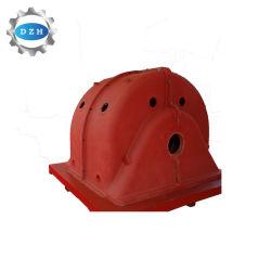 機械部品の予備品エンジンのシェルの発電機カバー鉄の鋳造