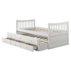 Детей в спальне мебель цельной древесины двухъярусная кровать двухъярусная кровать детей