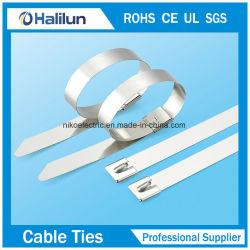 Bola de acero inoxidable industriales Abrazadera de cable de bloqueo
