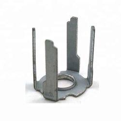 Kundenspezifischer Zeichnungensoem galvanisierter stempelnder Stahlpin mit Loch