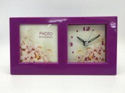 ساعة منبه لإطار الصور العملي الجميل للأزياء
