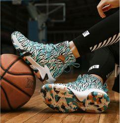 Extra bequem hohe Qualität Original gebrandete Basketball Schuhe Mode und Coole Knöchelschützende Schuhe Segelschuhe Sportschuhe