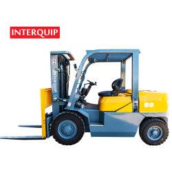 Interquip pequeno tamanho 5 toneladas carro diesel para uso no interior de contentores