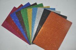 Environmental-Friendly Glitter colorida Hoja de espuma EVA para la escuela, artesanía y la Oficina de espuma EVA de papel para los niños jugando