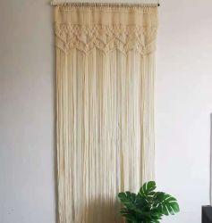 90 x175cm Macrame Rideau Tissé en coton tissés à la main pour la chambre de rideau de Bohème porte fenêtre du diviseur de rideaux arrière-plan de mariage
