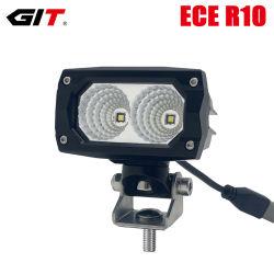 Emark ECE 20W 4nch LED Flut-Arbeits-Licht für die nicht für den Straßenverkehr LKW-Traktor-Landwirtschaft